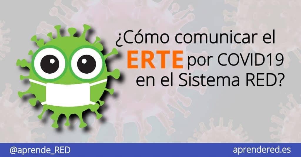 Cómo comunicar el ERTE pro COVID19 en Sistema RED