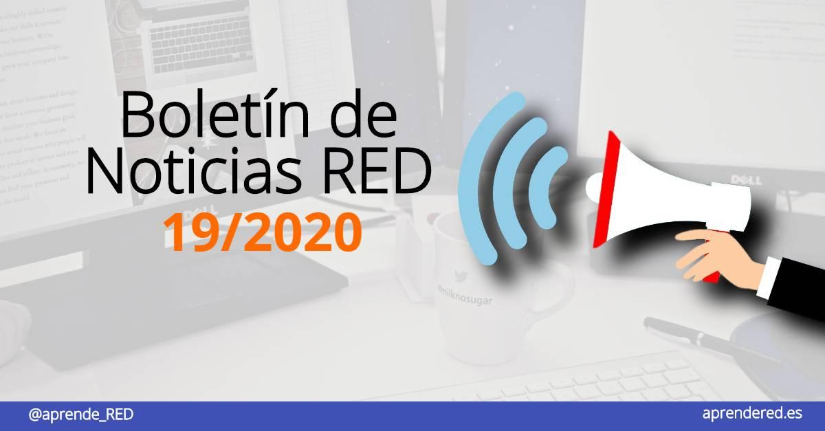 Boletín de Noticias RED 19/2020 de 16 de octubre